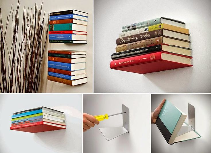 invisible Shelf of books
