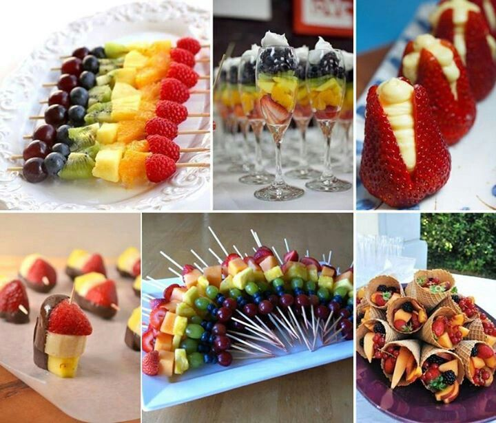 Fresh #Fruit Skewers Always A Healthy Choice For A Kids