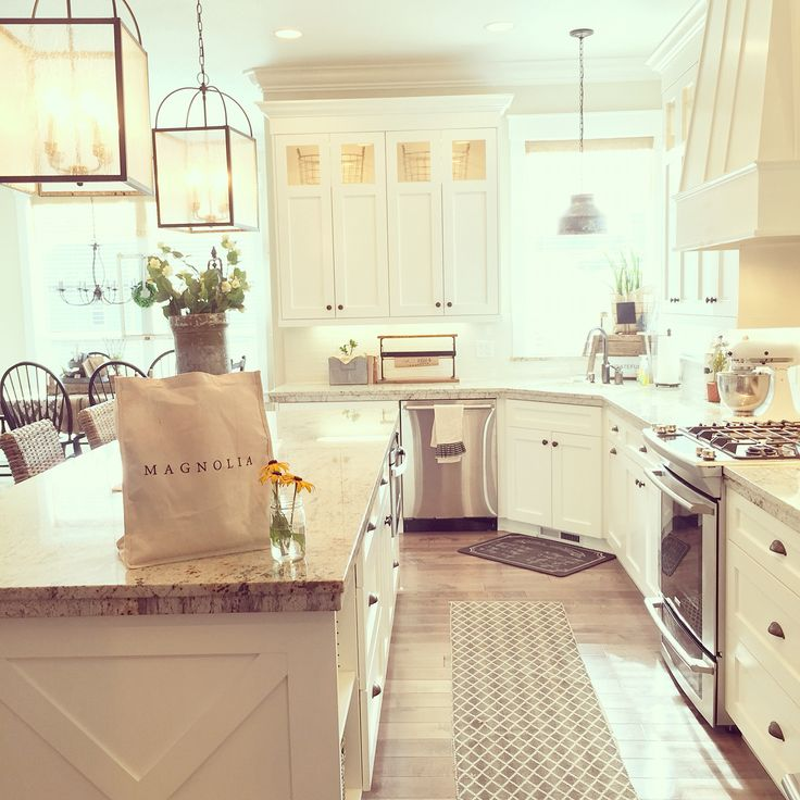 Rustic Farmhouse Kitchen White 190 best kitchens images on pinterest | dream kitchens, farmhouse