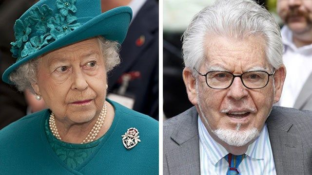 The Queen strips Rolf Harris of CBE following child sex conviction : Woman's Day