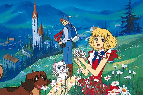 LULU, the flower angel. Not as famous as Candy candy but this anime was beautiful.