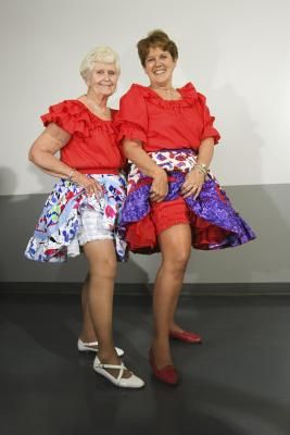 how to make a square dance skirt