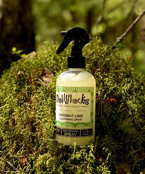 """One client says like this: """"Dollylocks tightening spray is great. My locks get a nice """"finish"""" and have a nice fragrance. My friends at work like to be near me and Breathe deeply through their noses."""" Get your tightening spray today:"""