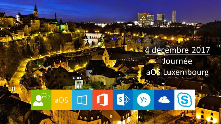 #aOSLuxembourg 4 Decembre 2017