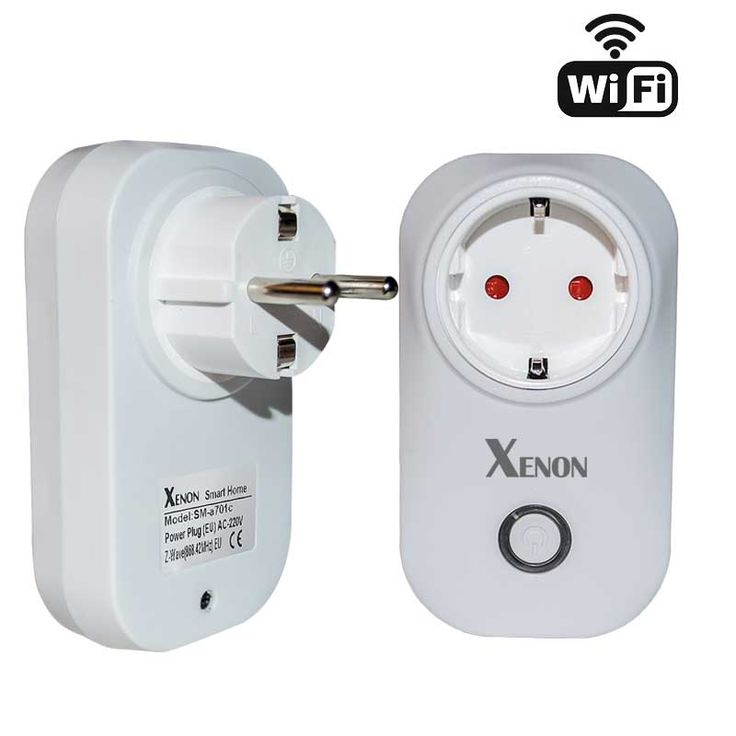 Xenon Smart electrical plug WiFi Socket Wireless App Remote Control Timer Switch WiFi Wall Plug EU Home Appliance Automation