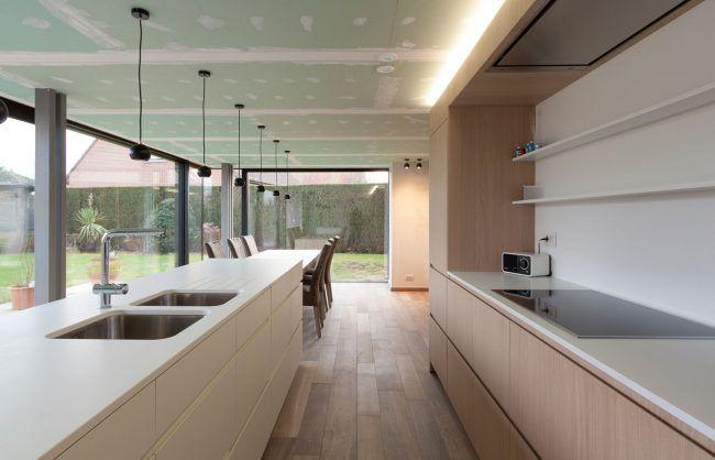 25 beste idee n over moderne huizen ontwerpen op pinterest moderne architectuur moderne - Keuken ontwikkeling in l ...
