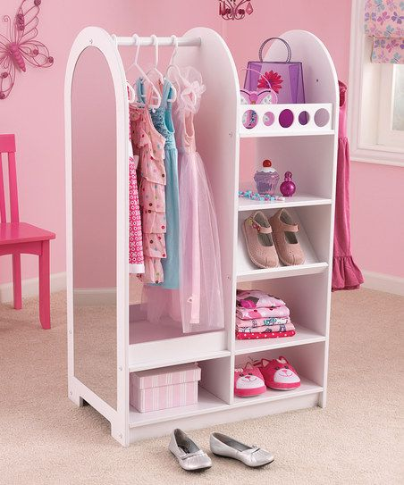 Let's Play Dress Up Station - this should be simple to make. I know this particular one is on Zulily right now. But I thin I can make it.