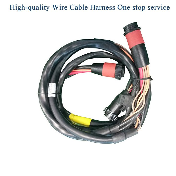 New Energy Industrial Medical Automotive Wire Cable Harness Oem Odm Customize Thousands Different Connectors Available Electric Wir Harness Electricity Wire