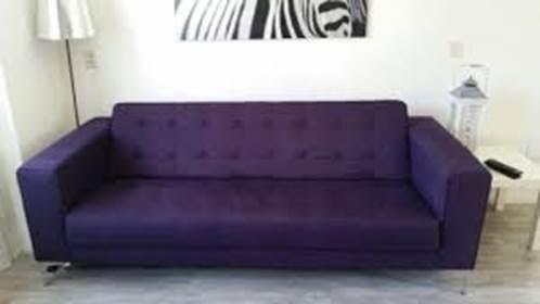 paarse bank van Diverzio, gebruiken in ontwerp