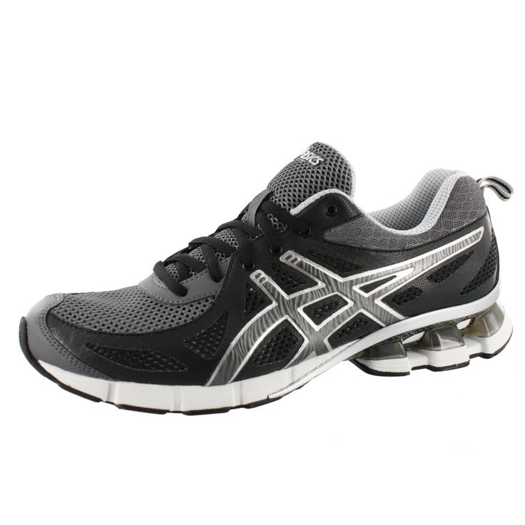 ASICS Men's Gel Fierce Running Shoe,Black/Onyx/Storm,9.5 M US