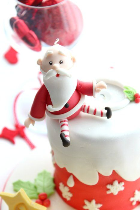 porcelana fria pasta francesa masa flexible fimo gumpast fondant pasta goma figurine topper christmas navidad pascua natal xmas santa noel