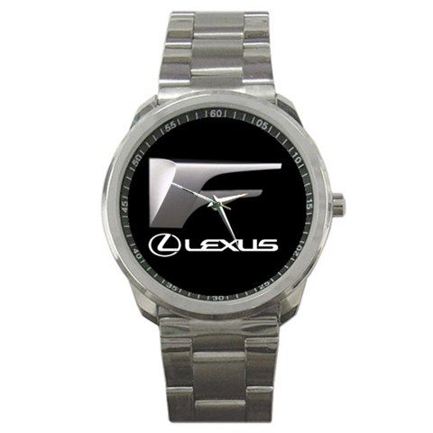 Lexus IS F Sport Performance Car Toyata Emblem Logo Sport Metal Watch | Dalmanaz - Jewelry on ArtFire