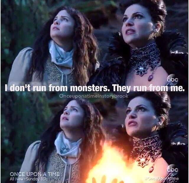 Cause the Evil Queen is a complete badass.