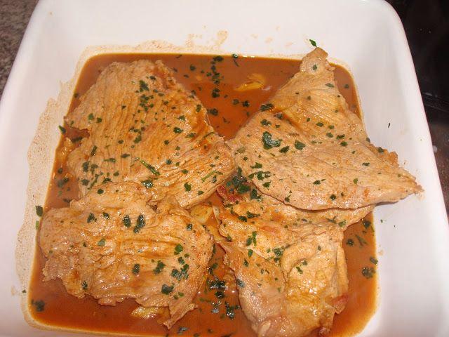 Receitas práticas de culinária: Bifanas em molho especial