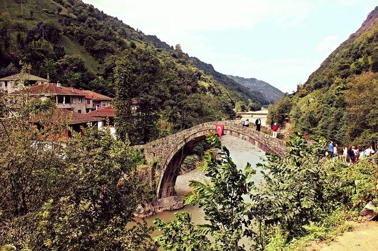 Çamlıhemşin-Şenyuva bridge / Rize - Turkey