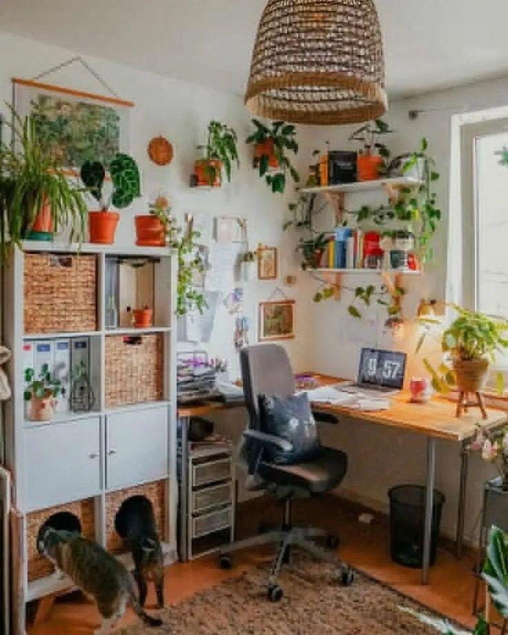 Creative Homeoffice Ideas: 15 Best Design Creative Home Office Ideas To Bedroom