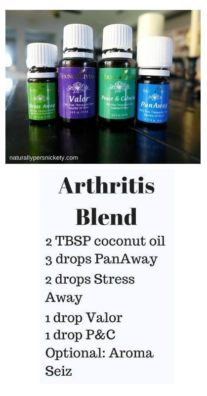 If you have Arthritis, you'll want to try these Young Living essential oils – Panaway, Peace and Calming, Stress Away, and Valor. Get yours at www.StopDropAndOil.com by jayneGale Rodgers