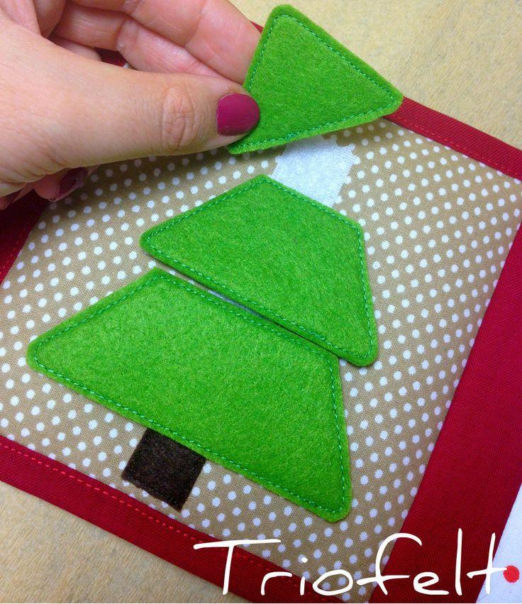 Puzzle #quietbook #softbook #busybook #cartesenzoriala #fabricbook #handmade #sewing #felt #feltbook #cartisenzoriale #christmasgift #развивающаякнижка #изфетра #фетр #книгаизткани #сенсорнаякнига #ручнаяработа #книжкаизфетра #montessori #gift #feltcraft #activitybook #handcrafted #librosensorial #instahandmade #instacraft #etsy #christmas #triofelt #handmademoldova