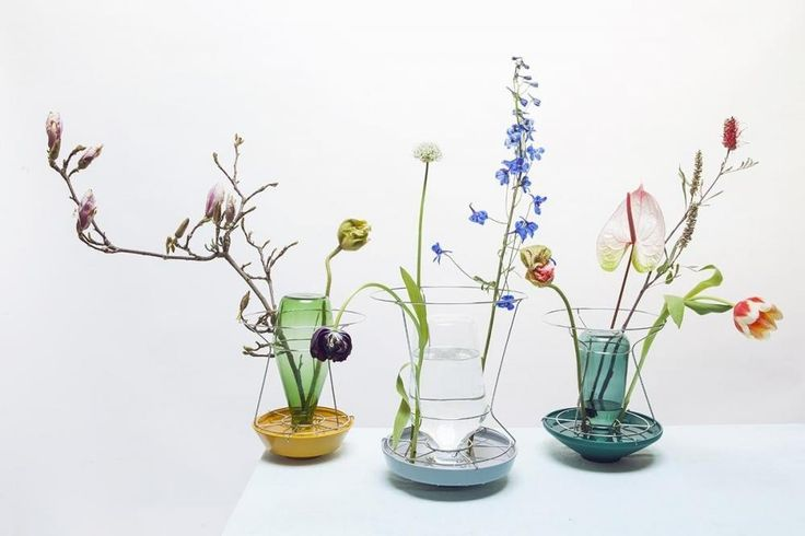 "Glass vases ""Hidden Vases"" by Valerie Objects"