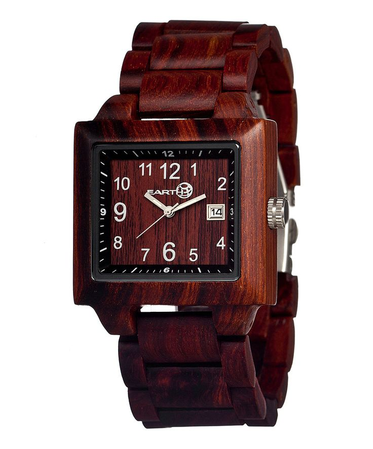 Look what I found on #zulily! EARTH wood watches Red Culm Wood Bracelet Watch by EARTH wood watches #zulilyfinds