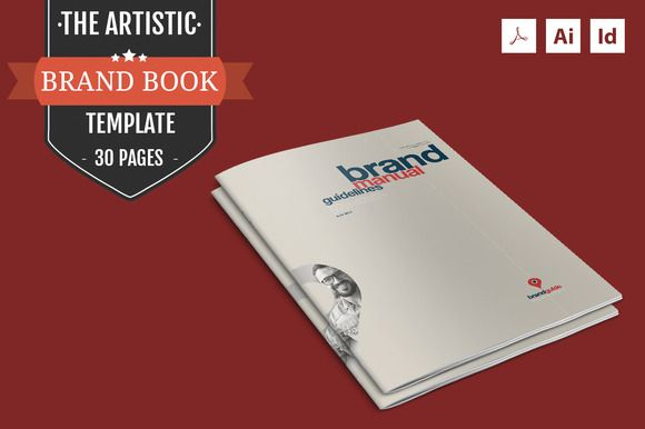 The Artistic – Brand Book Template by ZippyPixels on Creative Market