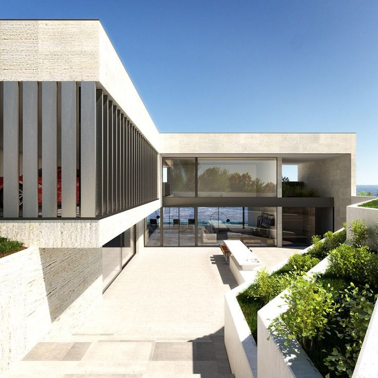 Modern Architecture Render