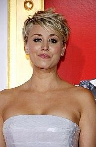 Kaley Cuoco-Short Hairstyles for Women