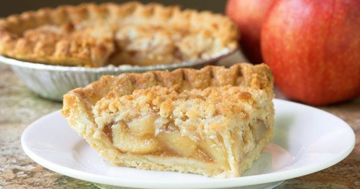 Recette - Tarte crumble aux pommes   100% fiable