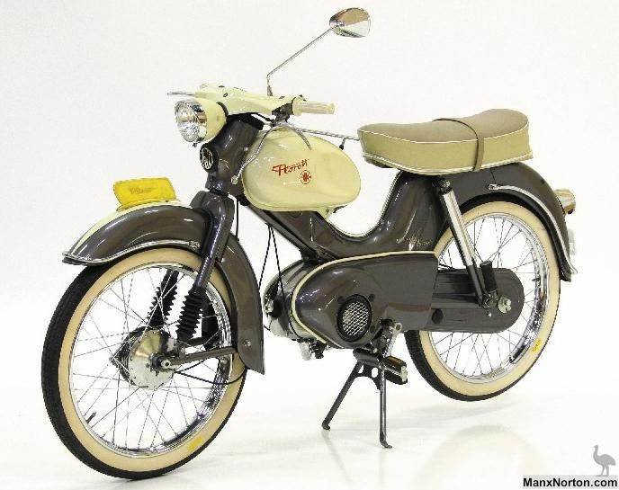 Classic German Mopeds Lightweight Road And 50cc Racing