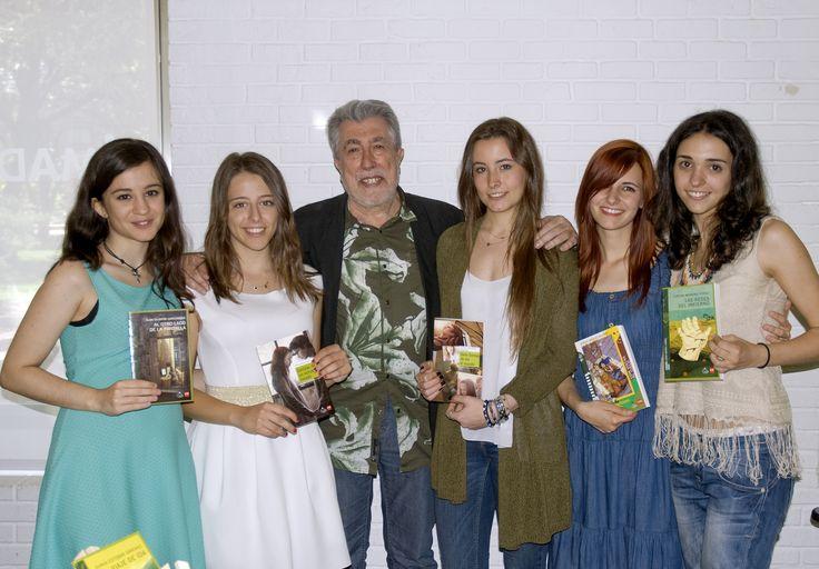31/05/15. Entrega de los Premios de la Fundación Jordi Sierra y Fabra en la Bbilioteca Eugenio Trias. Foto © Jorge Aparicio/ FLM15