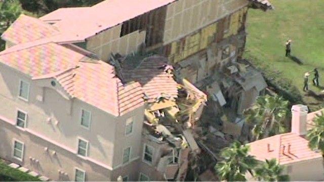 Florida sinkhole swallows parts of resort near Disney World