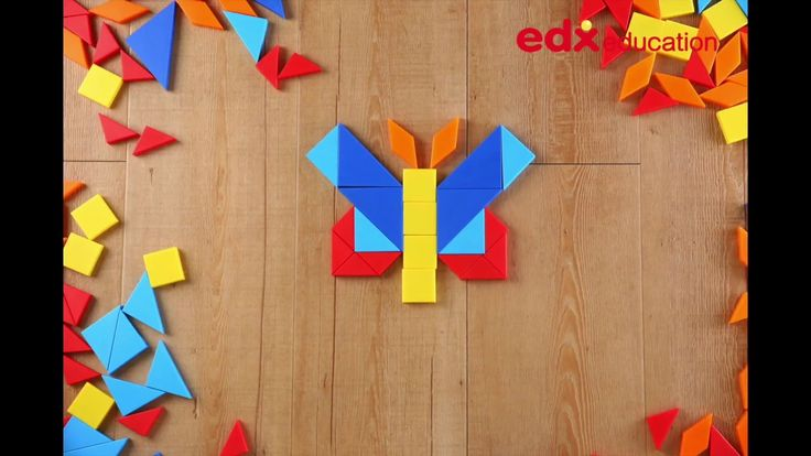 Shape Blocks Activity Set #edxeducation #finemotorskills #learningisfun