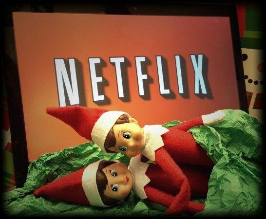 Netflix and chill. | Malachi the Evil Shelf Elf | Elf on ...