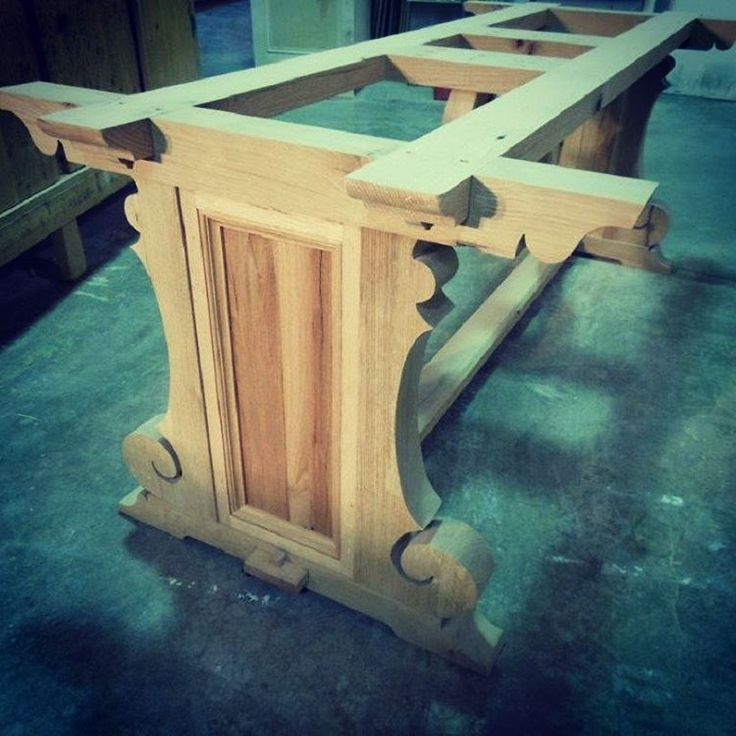 this pedastal table turned out really nice using all antuiqe oak lumber from salvaged materials , the top could be stone ,marble or wood