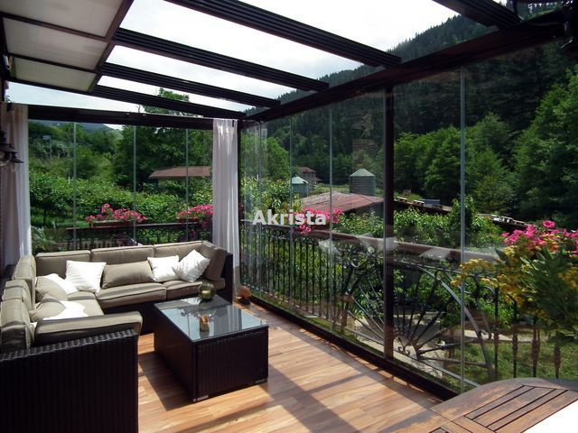 Las 25 mejores ideas sobre cerramientos terrazas en - Cristales para terrazas ...