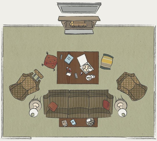 Nice Basic Living Room Layout