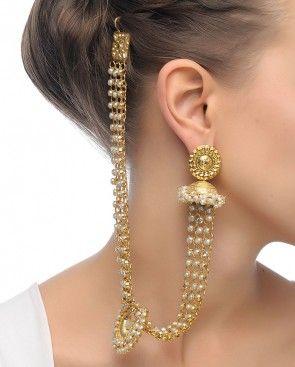 Silver Pakeezah Earrings