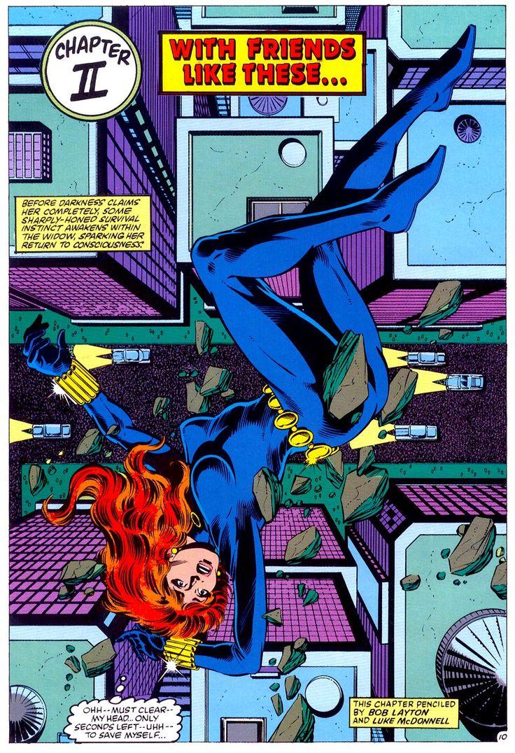 black widow comic strip - photo #14