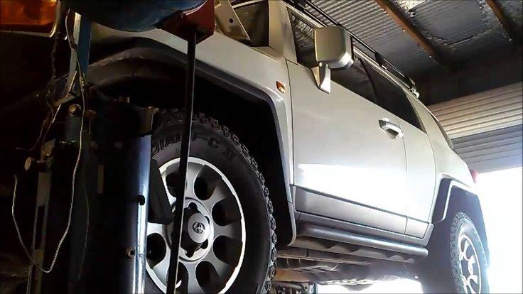 Toyota FJ Cruiser A750E/F Automatic Transmission Service