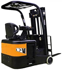 Increase Productivity with a Cost -Effective 3 Wheel Forklift