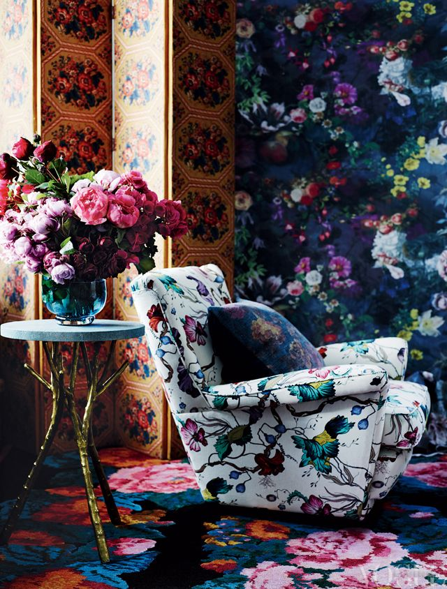 Inspire Florals via Vogue Living: