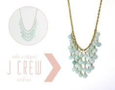 DIY Tutorial Diy Necklaces  / DIY J Crew Necklace - Bead&Cord
