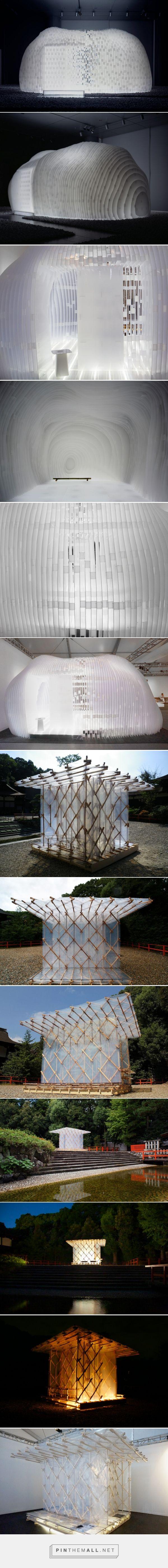 kengo kuma exhibits two mobile pavilions at design miami/ - created via https://pinthemall.net