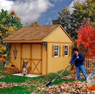 Small Prefab Cabin Kits | Shed to Home Conversions #shedkits