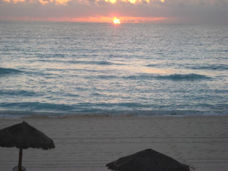 Sunrise at The Royal Caribbean.