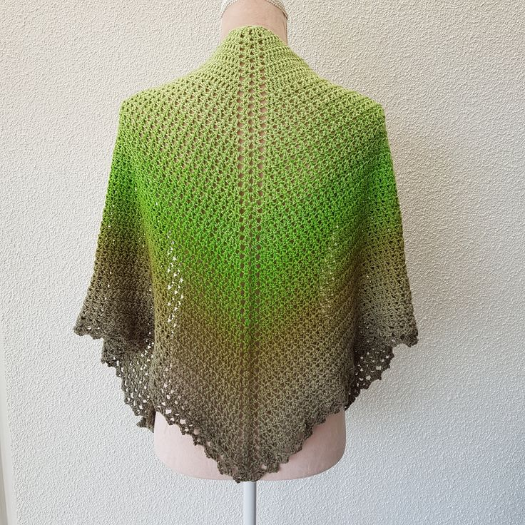 "MY PRESIOUS SHAWL YARN:  I have used one ""cake"" of  Scheepjes Whirl,  Pistachi oh so nice nr 761. One ""cake"" contains 1000m and have a weight of ca 200g. You can of course u…"