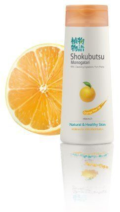 Shokubutsu Natural Healthy Shower Body Bath Cream - Orange Peel OIL - Product of Thailand by Nivea for Men Extra Whitening Pore Minimizer Volcanic Mud Facial Foam 100g P. $36.10. SHOKUBUTSU  MONOGATARI Shower Cream  - Orange Peel Oil -      99% Cleansing Ingredients From Plants  Natural & Healthy Skin            (220ml)     Ingredients: Water, Myristic acid, Glycerin, Cocamidopropyl betaine, Potassium hydroxide, Lauric acid, Palmitic acid, Lauryl glucoside, Fragranc...