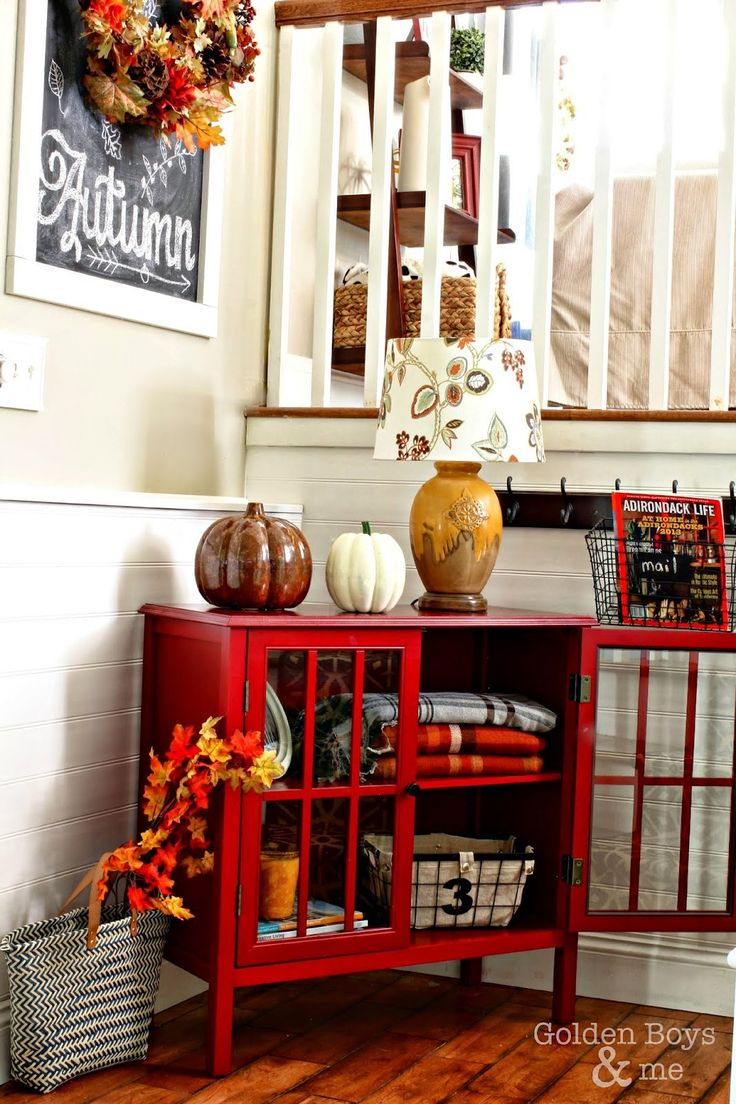 Fall home tour 2014 target threshold diy chalkboard and chalkboards Target fall home decor