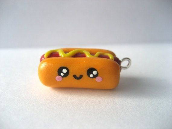 Awe this clay charm is so cute!!! I am in live with clay charms lol