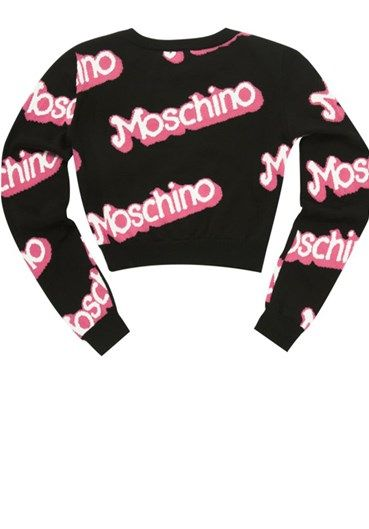 MOSCHINO - Sweater#alducadaosta #newarrivals #moschino #runway #capsule #collection #think #pink #style #fashion #cool #love #girl #women #apparel #accessories